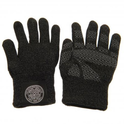 Селтик Трикотажные перчатки взрослые (тачскрин)
