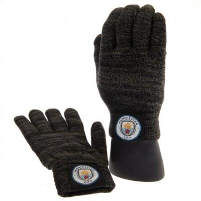 Манчестер Сити Трикотажные перчатки взрослые (тачскрин)