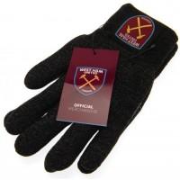 Вест Хэм Трикотажные перчатки юношеские (тачскрин)