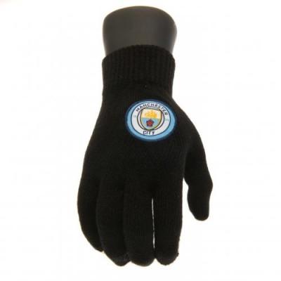 Манчестер Сити Трикотажные перчатки (юношеские)