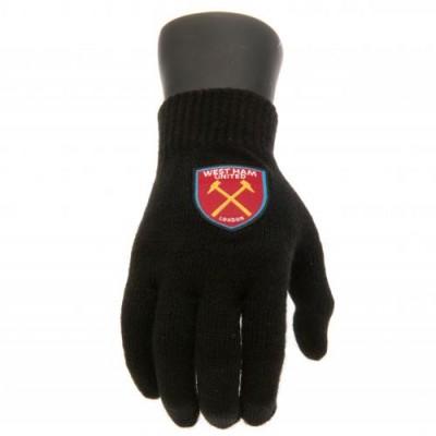 Вест Хэм Трикотажные перчатки юношеские