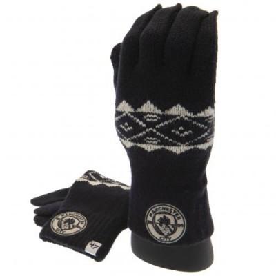 Манчестер Сити Трикотажные перчатки (взрослые)