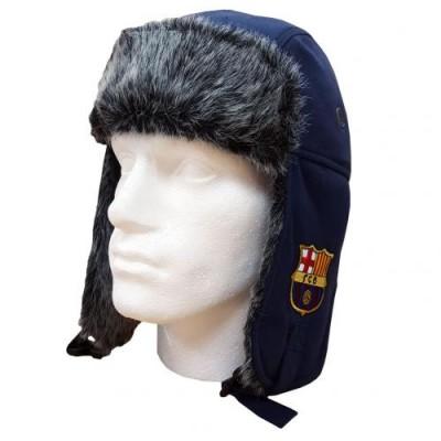 Барселона Меховая шапка-ушанка