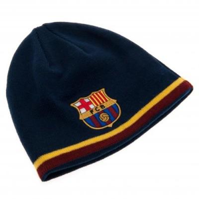Барселона Реверсивная трикотажная шапка