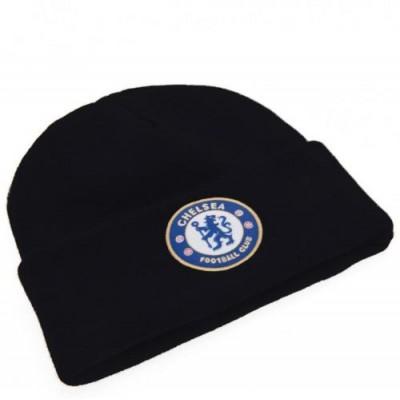 Челси Трикотажная шапка с отворотом BK