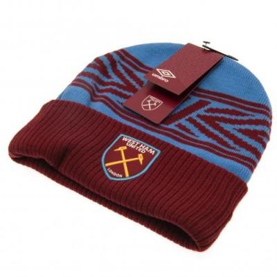 Вест Хэм Трикотажная шапка с отворотом Umbro