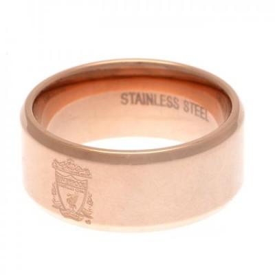 Ливерпуль Кольцо с покрытием из розового золота 19