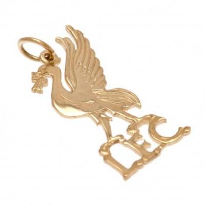 Ливерпуль Подвеска золотая 9 карат