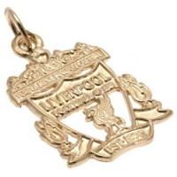Ливерпуль Подвеска золотая Эмблема 9 карат (Small)