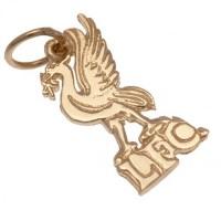 Ливерпуль Подвеска золотая 9 карат (Small)