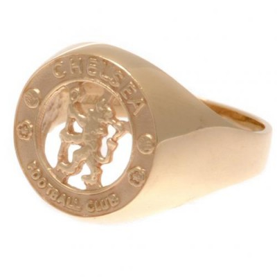 Челси Печатка золотая 9 карат 19
