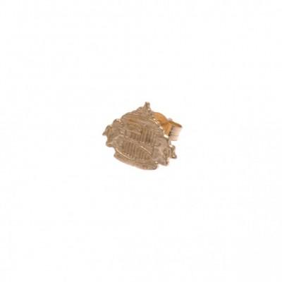 Сандерленд Сережка золотая 9 карат