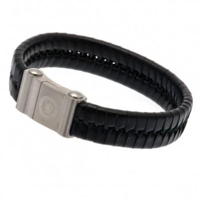 Челси Кожаный браслет (одна коса)