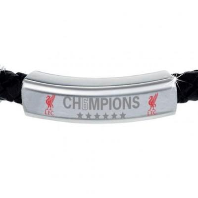 Ливерпуль Кожаный цветной браслет Победители Лиги Чемпионов