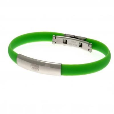 Селтик Цветной силиконовый браслет