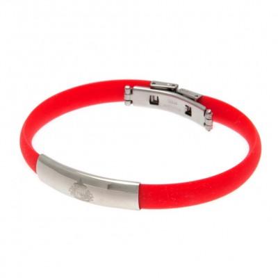 Сандерленд Цветной силиконовый браслет
