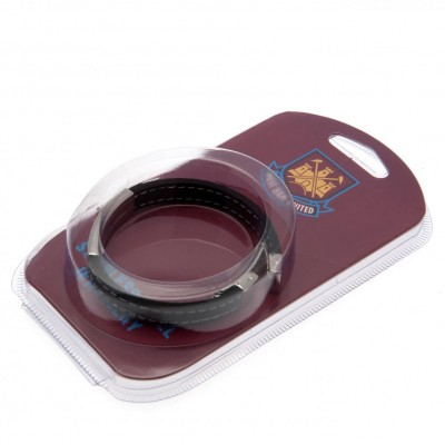 Вест Хэм Стеганый силиконовый браслет