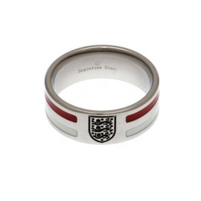 Англия Кольцо с цветными полосками 20,3