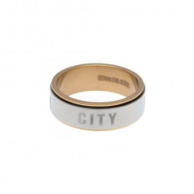 Манчестер Сити Кольцо двухцветное 18 EC