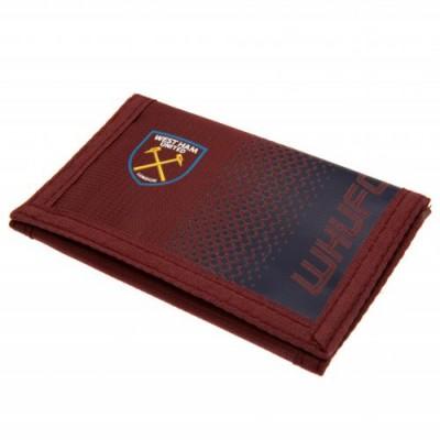 Вест Хэм Нейлоновый бумажник