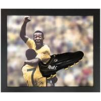 Бразилия Бутса Pele с автографом (багет)