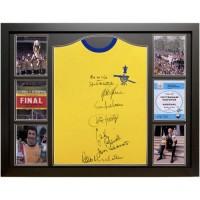 Арсенал Футболка 1971 Double Winners с автографами (багет)