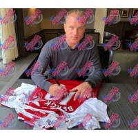 Арсенал Футболки Henry и Bergkamp с автографами (багет)