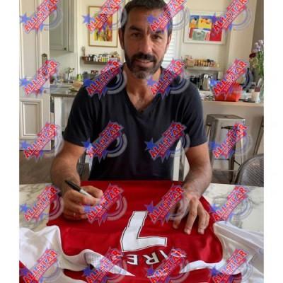 Арсенал Футболка Pires с автографом (багет)
