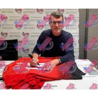 Манчестер Юнайтед Футболка Keane с автографом (багет)