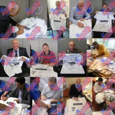 Тоттенхэм Футболка с автографами (багет)