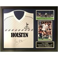 Тоттенхэм Футболка Hoddle с автографом (багет)