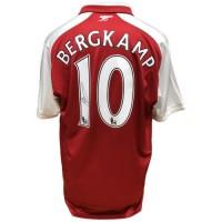 Арсенал Футболка Bergkamp с автографом
