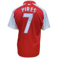 Арсенал Футболка Pires с автографом