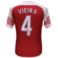 Арсенал Футболка Vieira с автографом