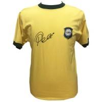 Бразилия Футболка Pele с автографом
