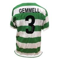 Селтик Футболка Gemmell с автографом