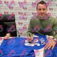 Челси Футболка Terry с автографом