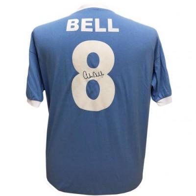Манчестер Сити Футболка Bell с автографом