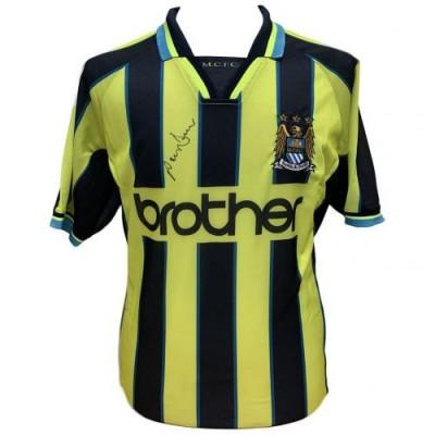 Манчестер Сити Футболка Dickov с автографом