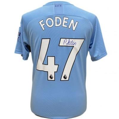 Манчестер Сити Футболка Foden с автографом