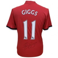 Манчестер Юнайтед Футболка Giggs с автографом
