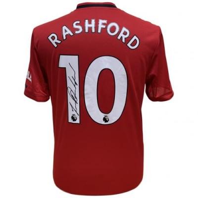Манчестер Юнайтед Футболка Rashford с автографом
