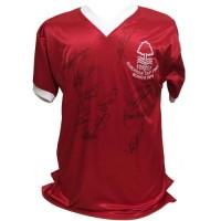 Ноттингем Футболка 1979 с автографами 11 игроков