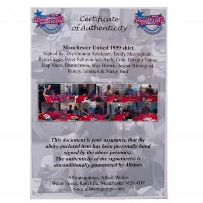 Манчестер Юнайтед Футболка с автографами игроков
