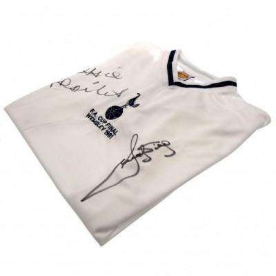 Тоттенхэм Футболка с автографами Ardiles и Villa