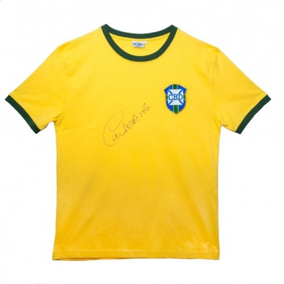 Бразилия Футболка Alberto с автографом