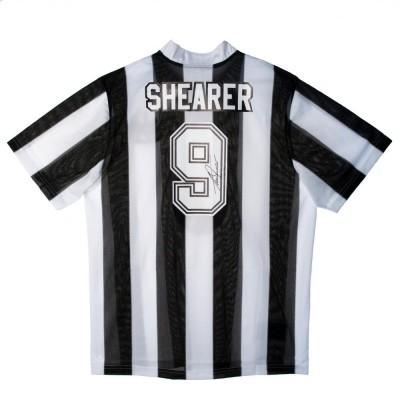 Ньюкасл Футболка Shearer с автографом