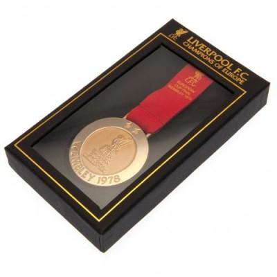 Ливерпуль Медаль реплика Чемпионы Европы Уэмбли 1978