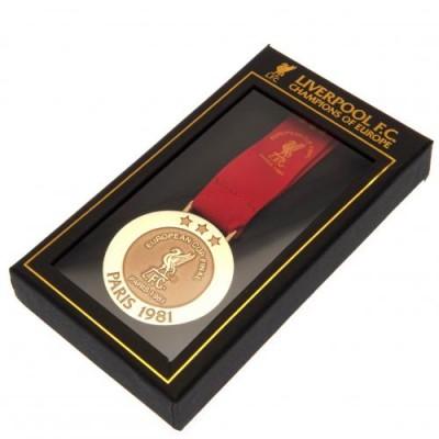 Ливерпуль Медаль реплика Чемпионы Европы Париж 1981