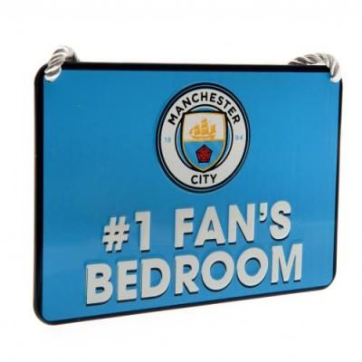Манчестер Сити Табличка в спальню (FAN №1)